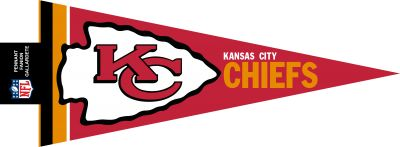 BANDERIN KANSAS CITY CHIEFS