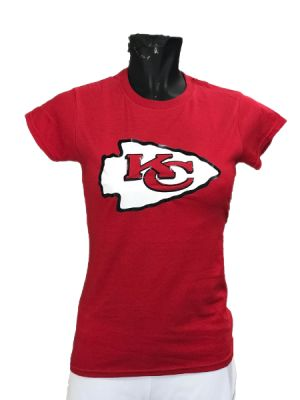 PLAYERA KANSAS CITY CHIEFS PARA DAMA